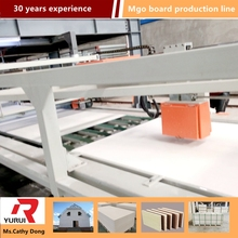 waterproof mgo board production line standard mgo board production machine line