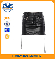 latest skirt design pictures sexy mini leather skirt