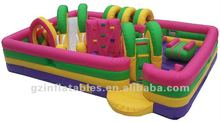2012 {Qi Ling} kids zone inflatable obstacle tunnel