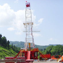 Oil&Gas skid-mounted well drilling rig
