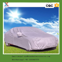 Manufacture 190t polyester with sliver coated sun protection suv car cover