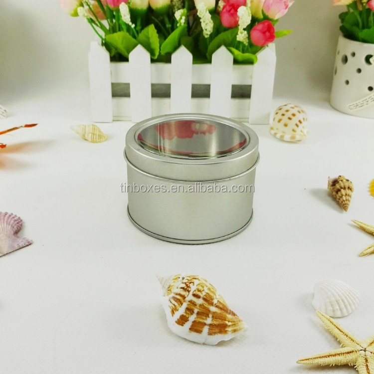 high quality small round customed wholesale tin box stamp pad