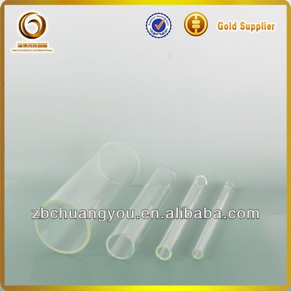 Customized borosilicate 3.3 heat-resistant blowing glass tube ( J-176)