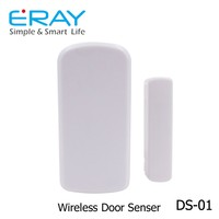 Smart home wireless magnetic Door Window Contact Sensor for burglar home alarm system