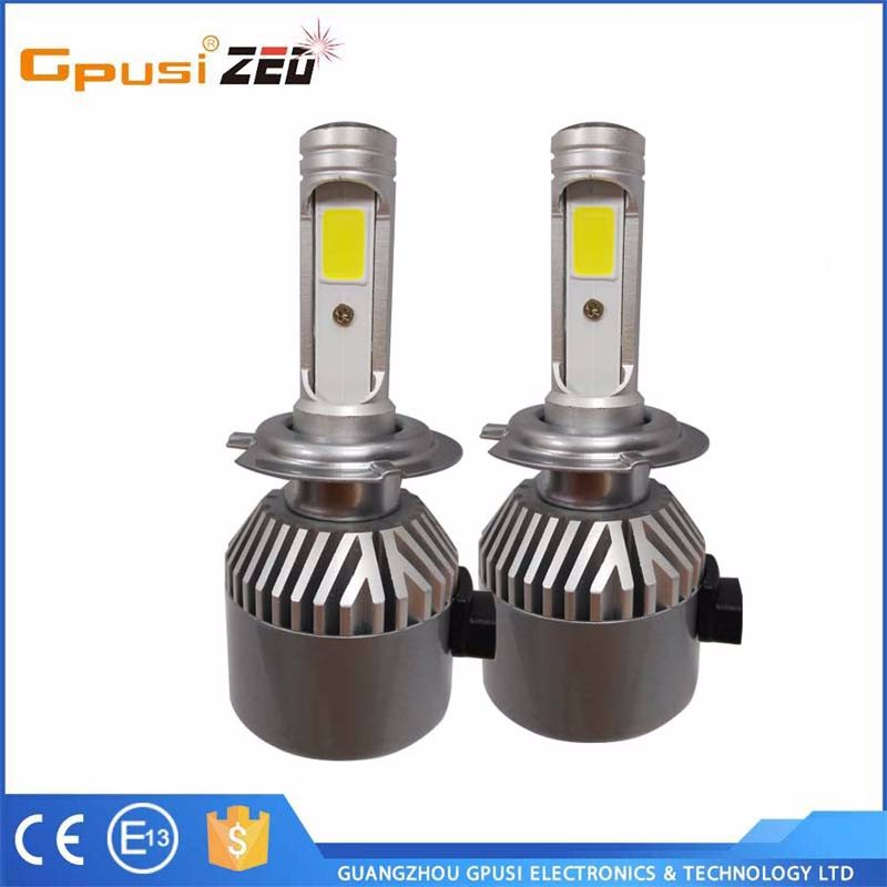 auto parts ,H1/H3/H4/H7/H11/9005/9006 car led hb4 led headlight car led lights