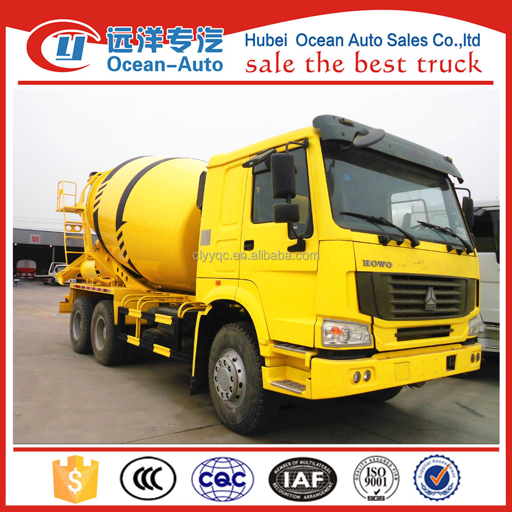HOWO 6x4 mercedes benz concrete mixer truck for sale