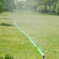 Plant grass lawn bedding irrigation sprinkler soaker hose pipe