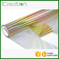 Super Good Quality Laser Holographic Hot Stamping Foil Roll for Plastic/PVC/Chair/Decoration/Cup/Accessories with Various Colors
