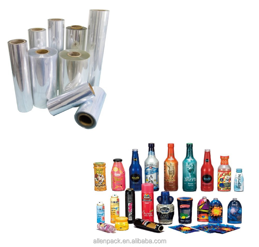 PET shrink sleeve film for printing shrink label