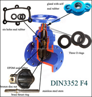 with the material brass product gate valve DN50-600 price in competitive