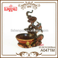 Decorative objects resin fruit bowl A0471M