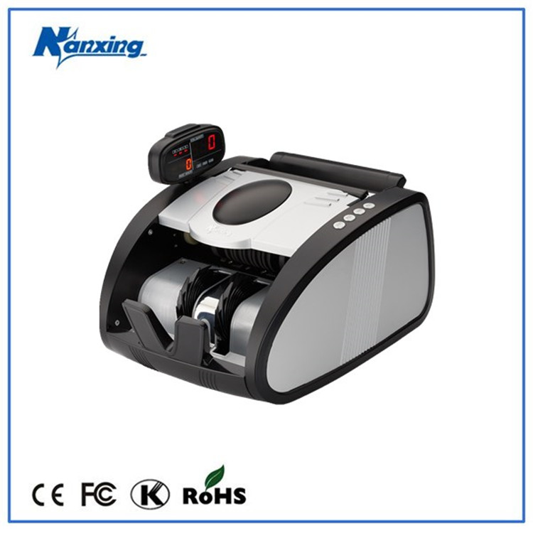 Best Selling UV,MG,IR Detecting Currency Printing Machine With Rotatable Display