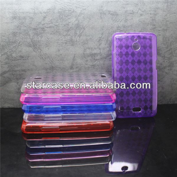 diamond gel soft protective case for huawei valiant y301 h881c