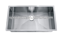 Permium 304 Stainless Steel Handmade Washing Sink for Family Kitchen and Resturants
