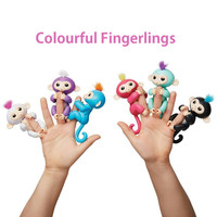 Fingerlings Interactive Baby Monkeys Smart Colorful