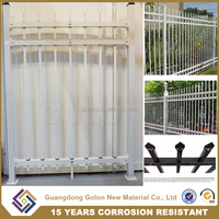 China Wholesale Metal Fencing Used Fencing