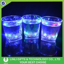 Party Decoration Cheap Plastic Light Up Whisky Glass,Lighting Plastic Whisky Glass,Light Up Drinking Glass