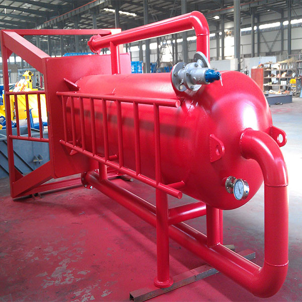 oil drilling mud hose oil and gas separator