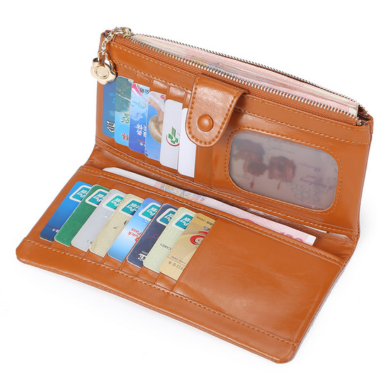 personalized travel document wallet long type rfid travel wallet for women
