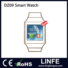 2016 Top Sale MTK Bluetooth DZ09 Smart Watch with GSM/GPRS Network Function Wrist Watches for Men Women
