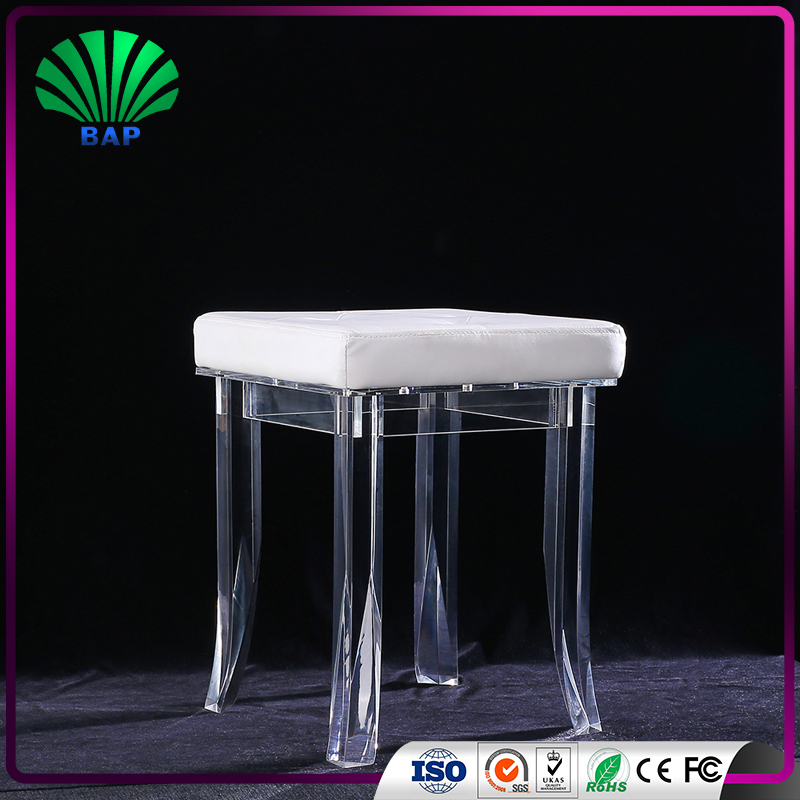 foot spa stool factory cheap Clear Acrylic stool plastic stool wholesale