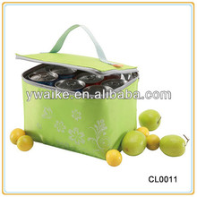 Insulated Polyester Tote Wine Cooler Bag
