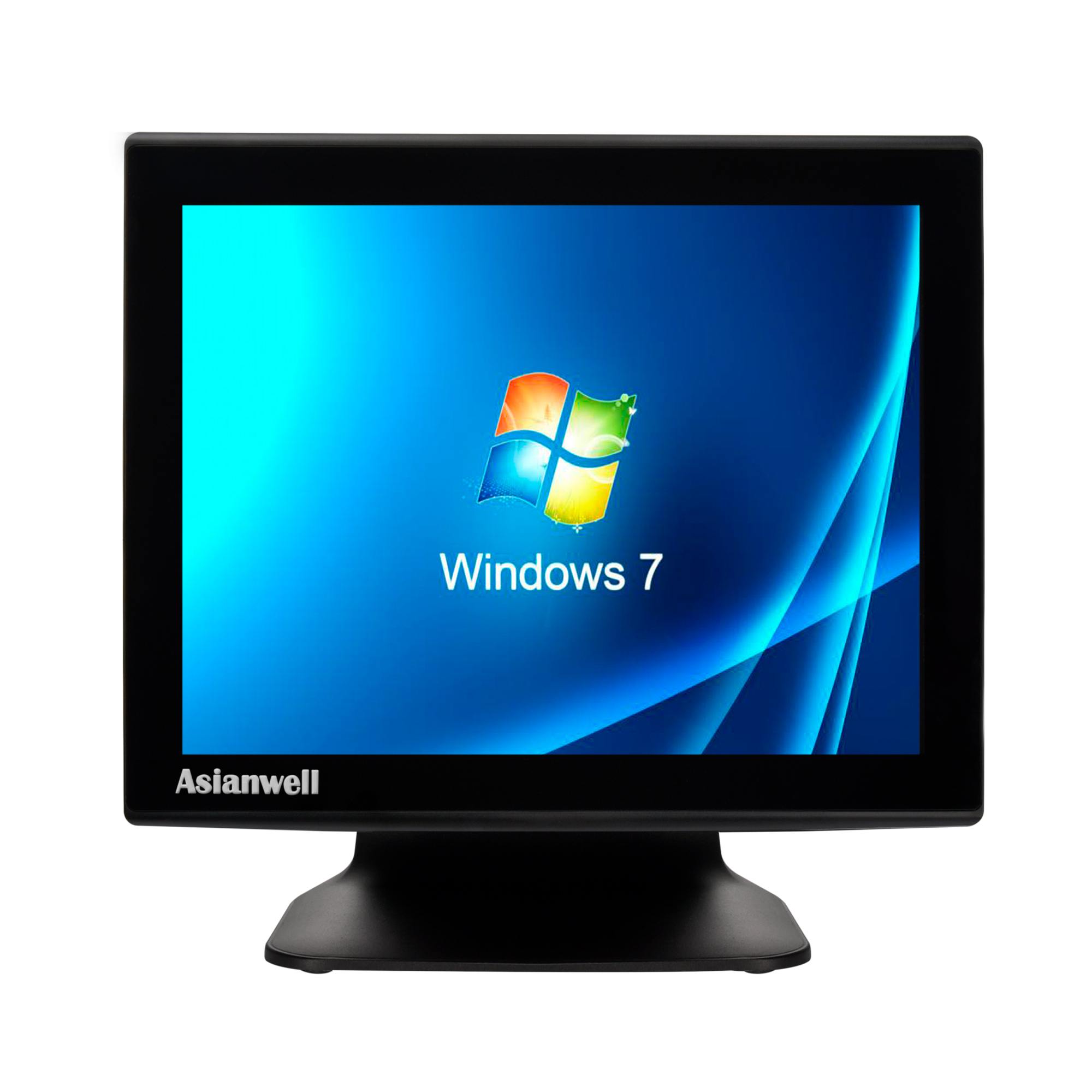 "AW-T3 All in one 15 ""pollici Touch screen Sistema POS con stampante e display cliente"
