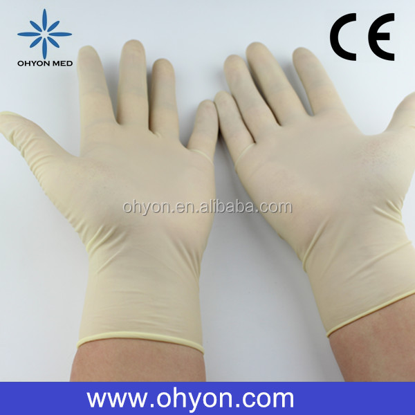 2016 Medical disposable best supplies working gloves importers in uk cheap latex gloves manufacturer