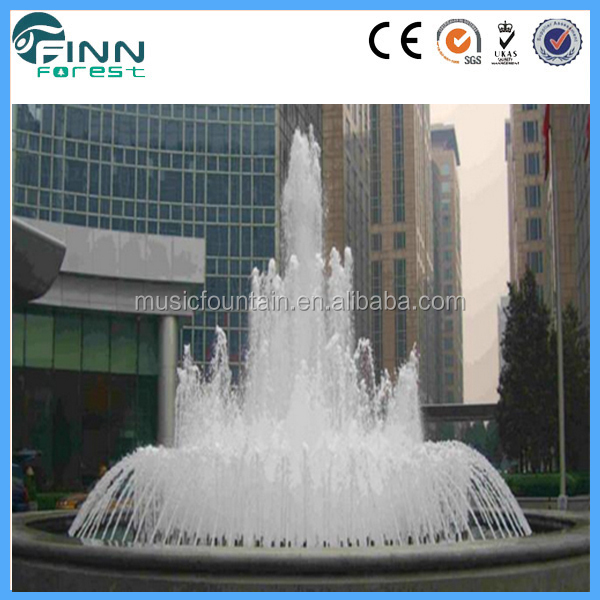 stainless steel 304 water features stone fountain