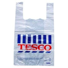 Tesco t-shirt plastic shopping bag