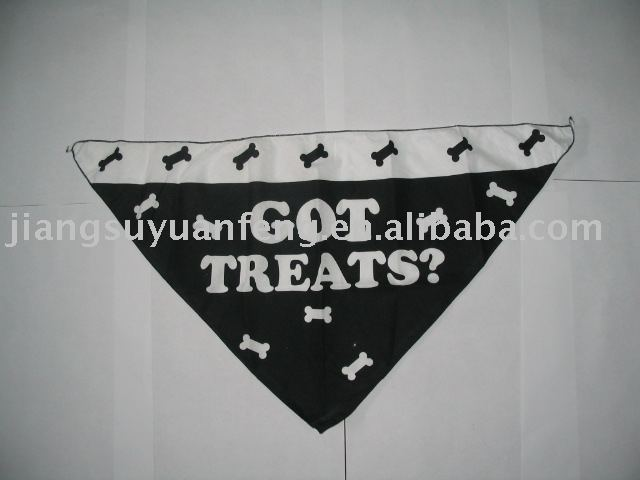 triangle pet bandanas for dog