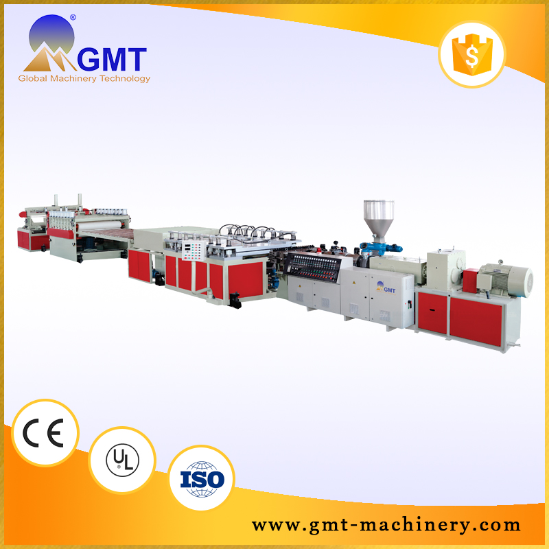 Pvc marble sheet Roofing Tile making foam sheet machine