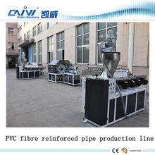 PVC Fibre Reinforced Hose Production Machine Plastic Braided Garden Hose Making Plant Price