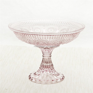 Wholesale hand made colored round wedding cake stand