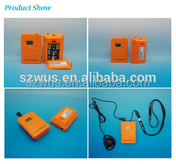 Wireless Sound Audio System Audio Tour Guide Equipment/wireless interpretation system from China Professional Manufacturer