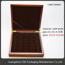 Promotional Beautiful Case Wooden Boxes Brass Hinge