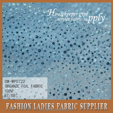 best price organza fabric star printed organza fabric free sample for u high quality best organze foil fabric