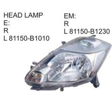 High quality car accessories HEAD LAMP For Toyota PASSO 2004-2006 OE:81150-B1010 81150-B1230 81150-B1070 81150-B1250