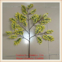 LF090517 Cheap artificial evergreen branch/artificial tree branches and leaves/plastic tree branches