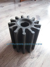 Outer Stainless steel core inner rubber impeller
