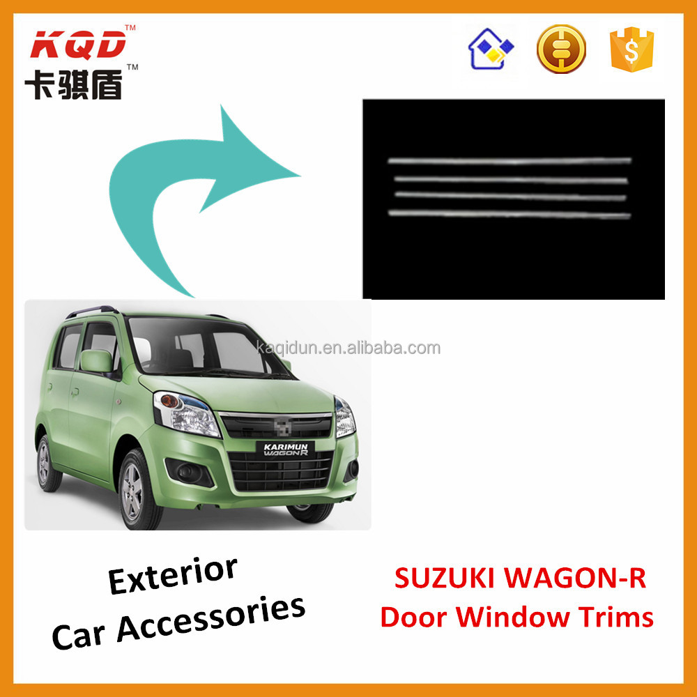 ABS Plastic Chrome suzuki wagon r window trims suzuki wagon r chrome cover suzuki wagon r accessories