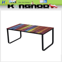 high quality new design modern glass coffee table end table/living room furniture center glass table