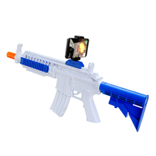 2017 new popular plastic 3d AR Augmented Reality Toy gun to play vr game