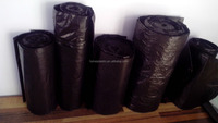 High quality plastic 100% biodegradable garbage bags on roll or in bag-hdpe or ldpe