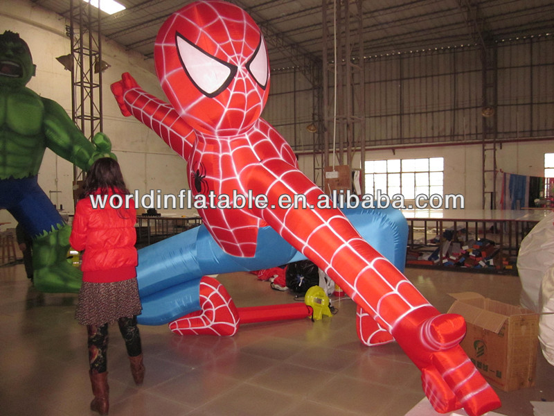 inflatable giant spider man