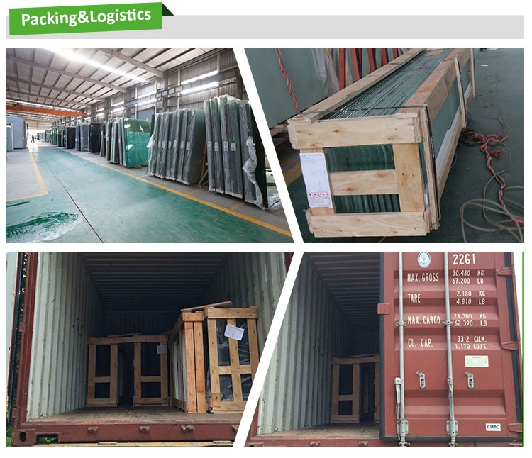 Hot sale Silkscreen tempered glass for building of Southeast Asia