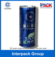 Food grade 230 - 250 ml juice packing drinks can