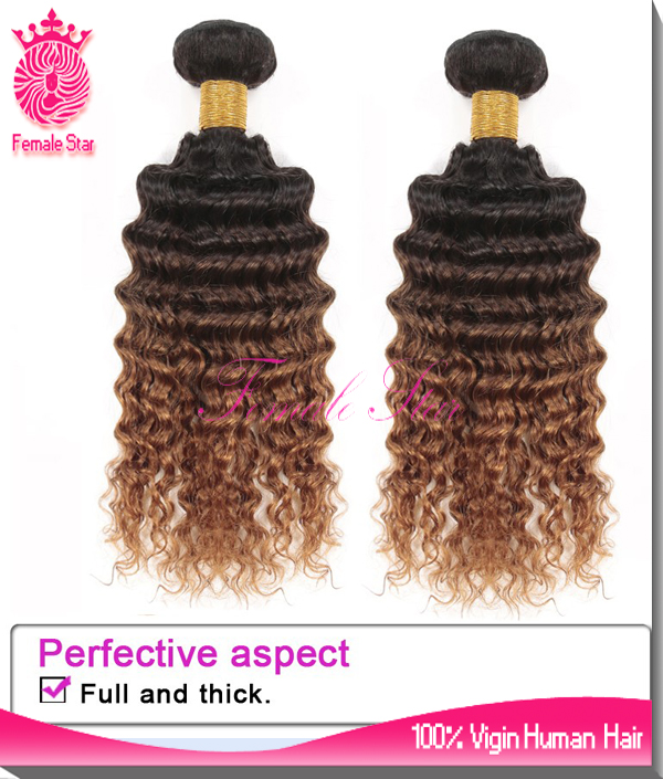 Cheap price indian hair distributors virgin remy human hair 7a grade colored three tone hair weave