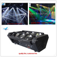 LED beam dmx 8x10w rgbw led spider beam moving head light