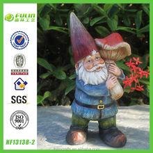 Small Resin Gnome Figurine, Gnome Figurine, Gnome